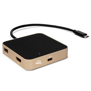 (*) OWC USB-C Travel Dock - Gold