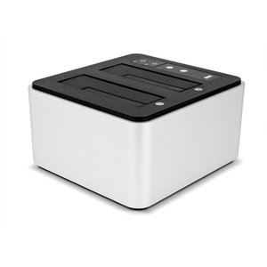 "(*) OWC Dual Drive Dock w/USB 3 - Load in and out up to 2 drives, 2.5"" or 3.5"""