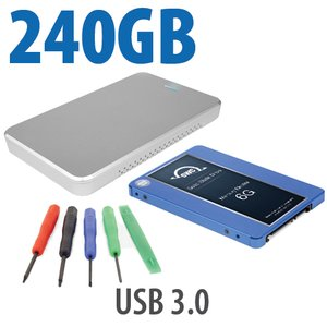 240GB OWC 6G SSD Complete DIY Kit