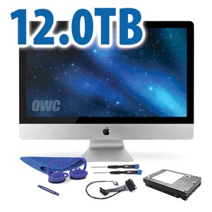 DIY Kit: 12.0TB 7200RPM HDD Upgrade/Replacement Kit for Apple iMac (all 2011 models)