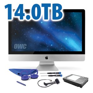 DIY Kit: 14.0TB 7200RPM HDD Upgrade/Replacement Kit for Apple iMac (all 2011 models)
