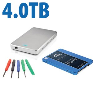 "DIY KIT: OWC Express USB 2.0 2.5"" Enclosure + 4.0TB Mercury Extreme Pro 6G SSD"