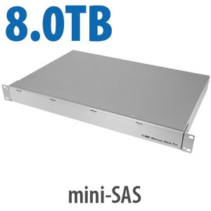 8.0TB OWC Mercury Rack Pro 4-Bay SAS 1U Rackmount Solution