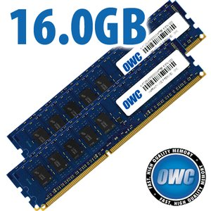 (*) 16.0GB Kit (4x 4GB) for all Apple Mac Pro 2009 to 2012 Models - DDR3 ECC 1333/1066MHz SDRAM ECC