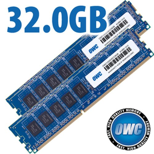 (*) 32.0GB Kit (4x 8GB) DDR3 ECC 1333/1066MHz SDRAM ECC for all Apple Mac Pro 2009 to 2012 Models