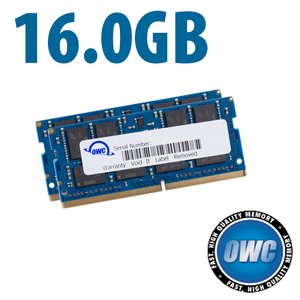 (*) 16.0GB (2x 8GB) 2666MHz DDR4 SO-DIMM PC4-21300 SO-DIMM 260 Pin Memory Upgrade Kit