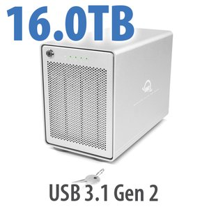 (*) 16TB OWC Mercury Elite Pro Quad RAID 5 4-Drive HDD Storage Solution