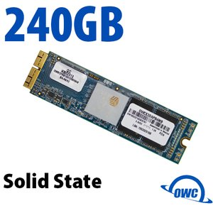 (*) 240GB OWC Aura Pro X SSD Upgrade (Blade Only) for Select 2013 & Later Macs