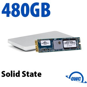 (*) 480GB OWC Aura Pro X SSD Upgrade Solution for Select 2013 and Later MacBook Air & MacBook Pro