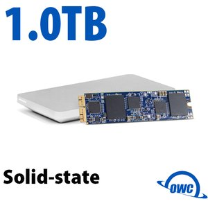 (*) 1.0TB OWC Aura Pro X SSD Upgrade Solution for Select 2013 and Later MacBook Air & MacBook Pro