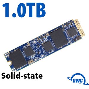 (*) 1.0TB OWC Aura Pro X SSD Upgrade (Blade Only) for Select 2013 & Later Macs