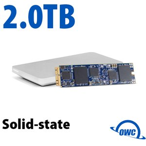 (*) 2.0TB OWC Aura Pro X SSD Upgrade Solution for Select 2013 and Later MacBook Air & MacBook Pro
