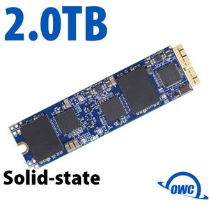 (*) 2.0TB OWC Aura Pro X SSD Upgrade (Blade Only) for Select 2013 & Later Macs
