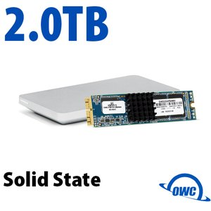 (*) 2.0TB OWC Aura Pro X SSD Upgrade Solution for Mac Pro (Late 2013)