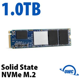 (*) 1.0TB OWC Mercury M.2 NVMe high performance 4-Lane PCIe 3.0 Drive
