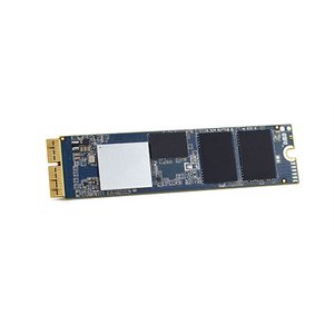(*) 480GB OWC Aura Pro X2 SSD Add-in Solution for Mac mini (Late 2014)