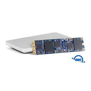 (*) 480GB OWC Aura SSD flash upgrade kit for Mid-2013 & Later MacBook Air, MacBook Pro w/Retina.