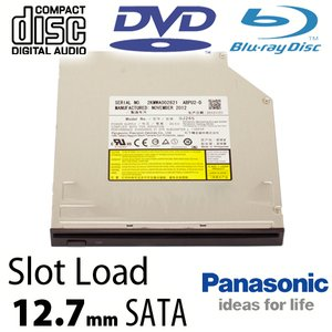 Panasonic 6X Blu-ray Burner + Super-MultiDrive DVD/DVD DL/CDRW Read/Write - Serial-ATA Internal