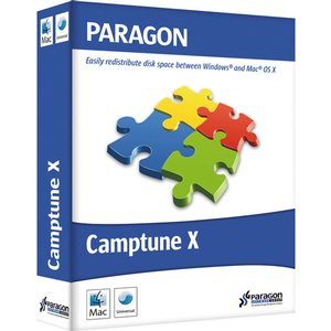 Camptune X: Redistribute space between Mac OS and Windows. Digital Download.