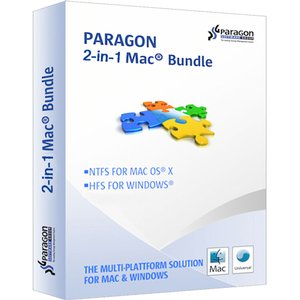 Paragon 2-In-1 Mac Bundle: Includes HFS+ for Windows and NTFS for Mac. Digital Download.