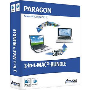 Paragon 3-In-1 Mac Bundle: Includes HFS+ for Windows, NTFS for Mac, and Camptune X. Digital Download.
