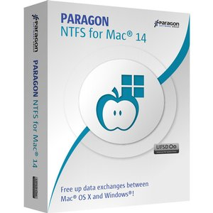 Paragon NTFS for Mac: Read and Write to Windows NTFS from Mac OS. Three Pack.
