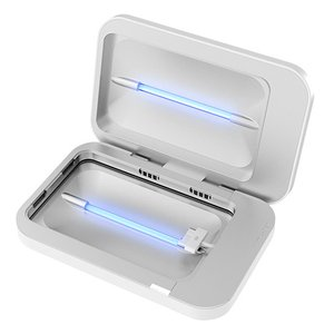 PhoneSoap Charger & UV Sanitizer Universal Cell Phone Charger - White
