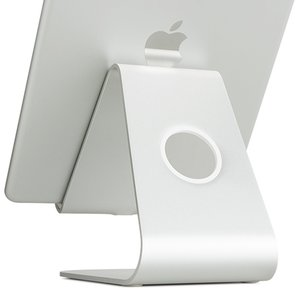 "Rain Design mStand tablet Stand for All Apple iPad Models and Tablets up to 13"" - Silver"