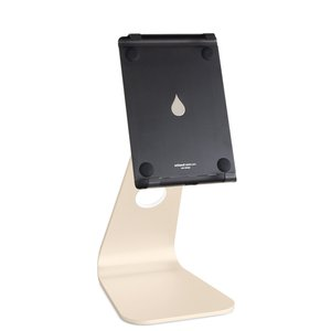 "Rain Design mStand tablet pro Adjustable Stand for Apple iPad Pro 9.7"" and Tablets up to 10"" - Gold"