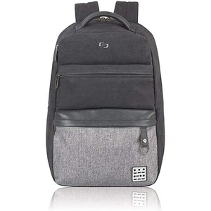 Solo Urban Code Laptop Backpack - Black/Gray