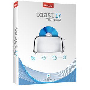 Roxio Toast 17 Titanium - w/Blu-ray Video Disc Authoring Plug-in