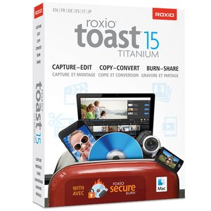 Roxio Toast 15 Titanium - Complete multimedia suite with DVD burner for Mac