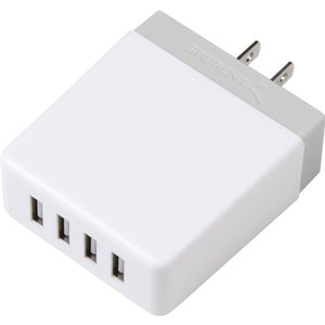 Sabrent 4-Port USB Wall Charger 40W - White