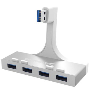 Sabrent Premium 4-Port Aluminum USB 3.0 Hub for 2012 iMac and later
