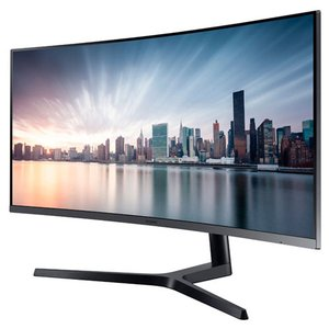 "Samsung 34"" 890 Series Curved WQHD Monitor with USB-C for Business"