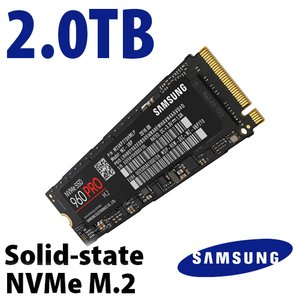 (*) Samsung 2.0TB 960 PRO NVMe M.2 Solid-state Drive