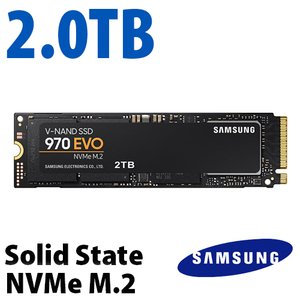 2.0TB 970 EVO NVMe M.2 Solid-state Drive