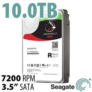 (*) Seagate 10.0TB 3.5-inch IronWolf Pro NAS Hard Disk Drive