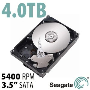 4.0TB Seagate BarraCuda 3.5-inch SATA 6.0Gb/s 5400RPM Hard Drive