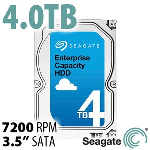 (*) Seagate 4.0TB Enterprise 7200RPM with 128MB Cache SATA 6Gb/s Hard Disk Drive