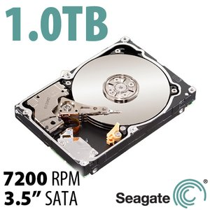 (*) 1.0TB Seagate Constellation ES 3.5-inch SATA 3.0Gb/s 7200RPM Enterprise Class Hard Drive