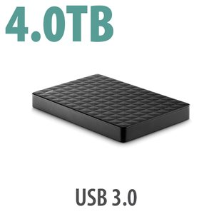 (*) Seagate 4.0TB Expansion Expansion Portable Hard Drive