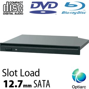 Sony Optiarc 6X Blu-ray Burner + Super-MultiDrive DVD/DVD DL/CDRW Read/Write - Serial-ATA Internal