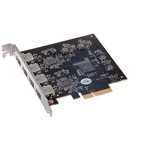 Sonnet Technologies Allegro Pro USB 3.1 4-Port SuperSpeed+ USB 3.1 Charging PCI Express 2.0 Card, Thunderbolt compatible.