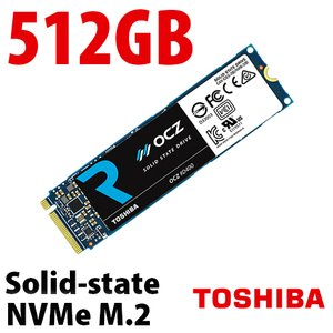 Toshiba OCZ RD400 512GB NVMe M.2 Solid-state Drive