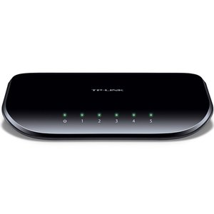 TP-LINK TL-SG1005D 10/100/1000Mbps Unmanaged 5-Port Gigabit Desktop Switch
