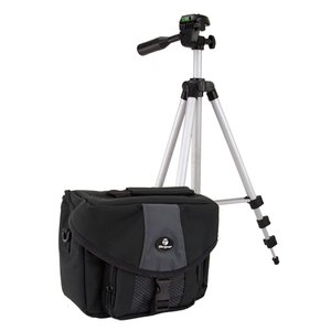 Targus Video Kit w/Full Size Tripod, Carrying Case, 5 x DVD-R Media, & more - $39.95 Retail Value!