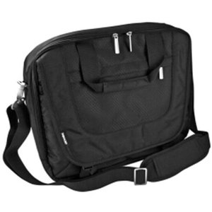 TechTent Nylon Laptop Shoulder Bag - Black