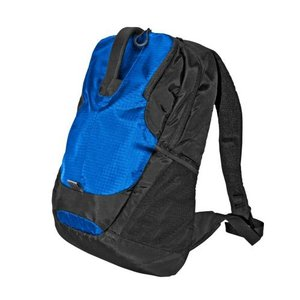 TechTent Polyester Laptop Backpack - Blue/Black
