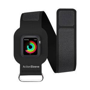 (*) Twelve South ActionSleeve Armband for 38mm Apple Watch - Black